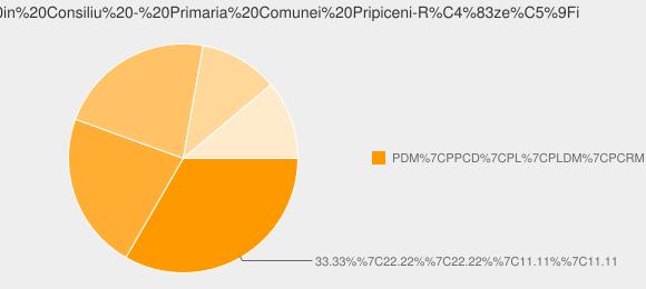 Repartizarea Partidelor in Consiliu - Primaria Comunei Pripiceni-Răzeşi